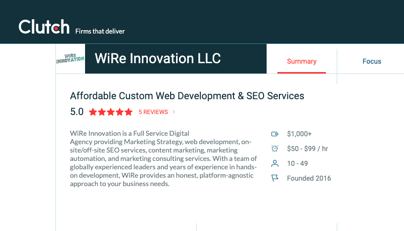 WiRe Innovation